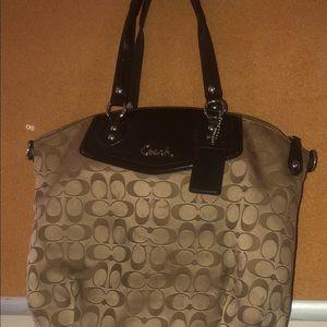 Large Authentic Coach handbag